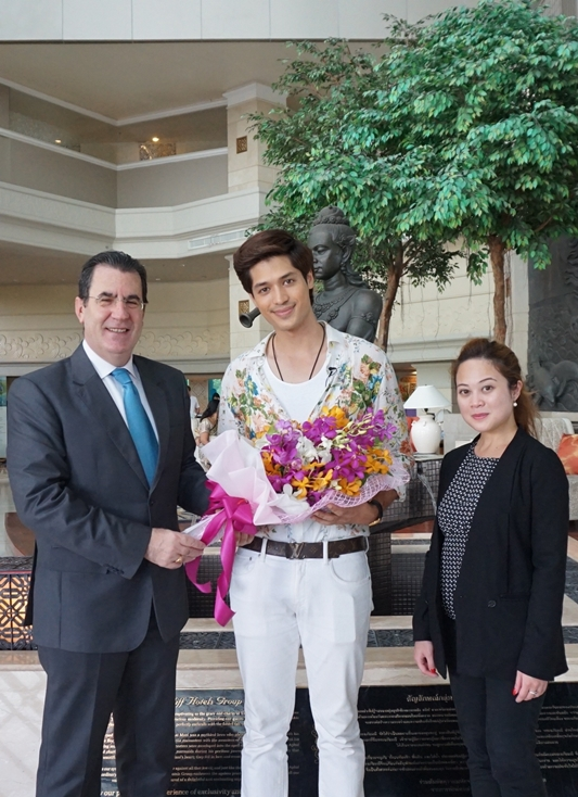Royal Cliff Welcomes Thai Actor and Model, Mr. Nat Nattaraht