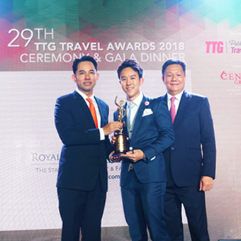 Royal Cliff's 12th Year in Conquering the TTG Travel Hall of Fame Award