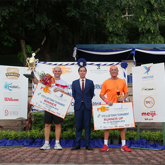 Fitz Club's 10th Tennis Tournament finished with an Ace