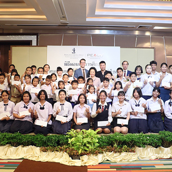 Royal Cliff Supports Employees' Children with Annual Scholarship Program